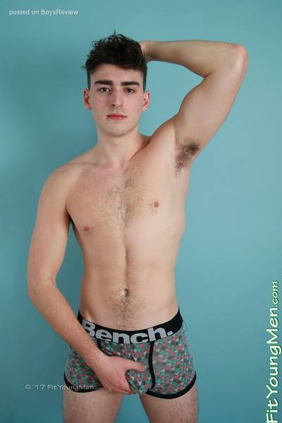 Milo Fitzroy - Swimmer - Hunky Younger Brother of Rufus is Back to Pump his