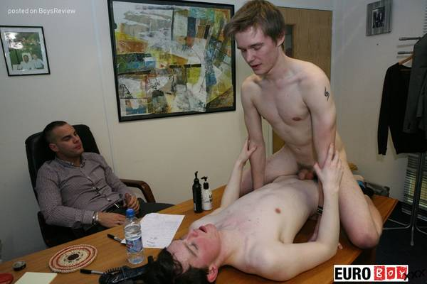 BAREBACK BUSINESS - Alec, Charlie and Luke at www.EuroBoyXXX.com
